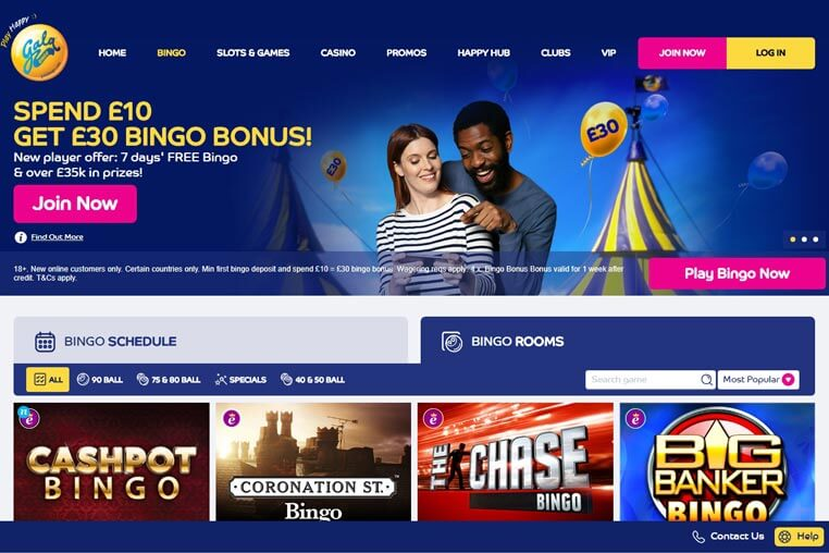 Gala Bingo Bonus Codes 2018 – Use and Win