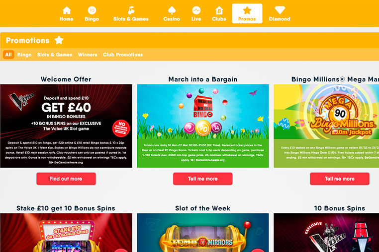 Buzz Bingo Bonus Codes 2020 – Use Bonus Codes and Win Now